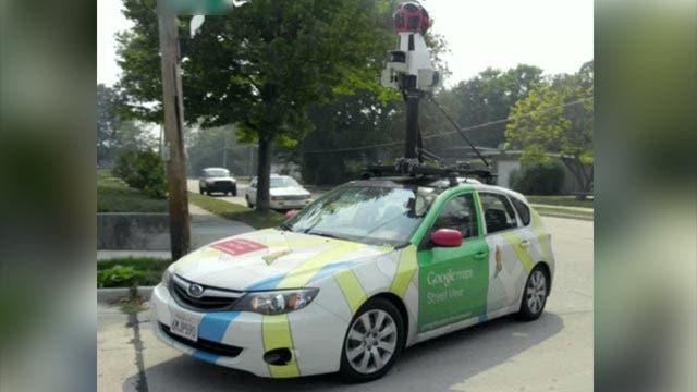 Grapevine: Google Street View photographer mistaken for spy