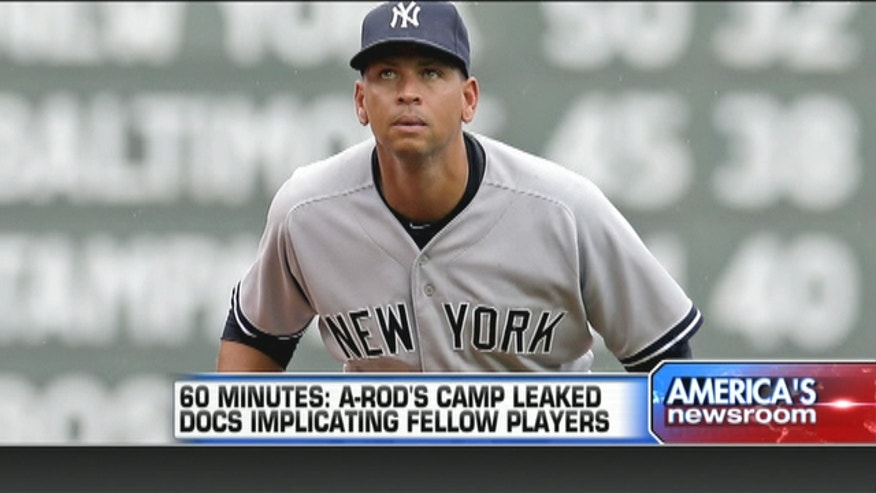 "According to a report from CBS' ""60 Minutes,"" Alex Rodriguez's inner circle may be responsible for leaking names of other players associated with a doping scandal."