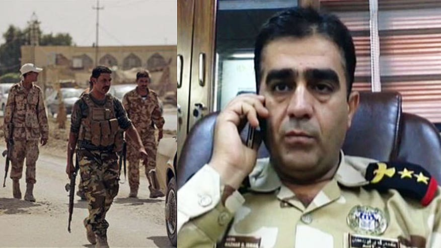 Kurdish Defense Guard Colonel Hazhar Ismail on Iraq's fight against Islamic State militants