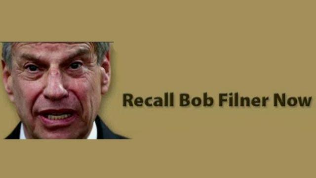 Grapevine: Recall campaign begins against Bob Filner
