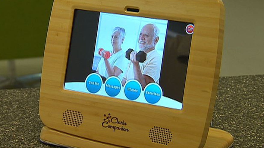 Seniors are the fastest growing population in America and now there's a tablet designed just for them.  The Claris Companion is a button-free device that helps seniors stay connected with family members and get medical reminders