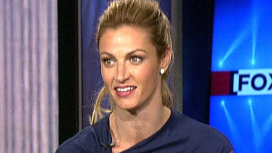 Erin Andrews on covering football, and weathering her own media coverage