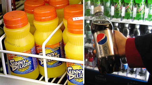 Fruit juice worse for you than soda?
