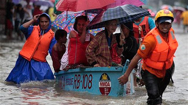 At least 7 dead as monsoon rains flood the Philippines