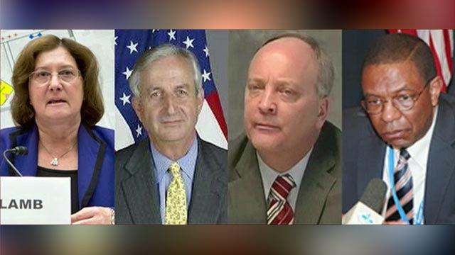 Diplomats punished for Benghazi back on the job