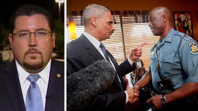 Ferguson mayor discusses Eric Holder's visit
