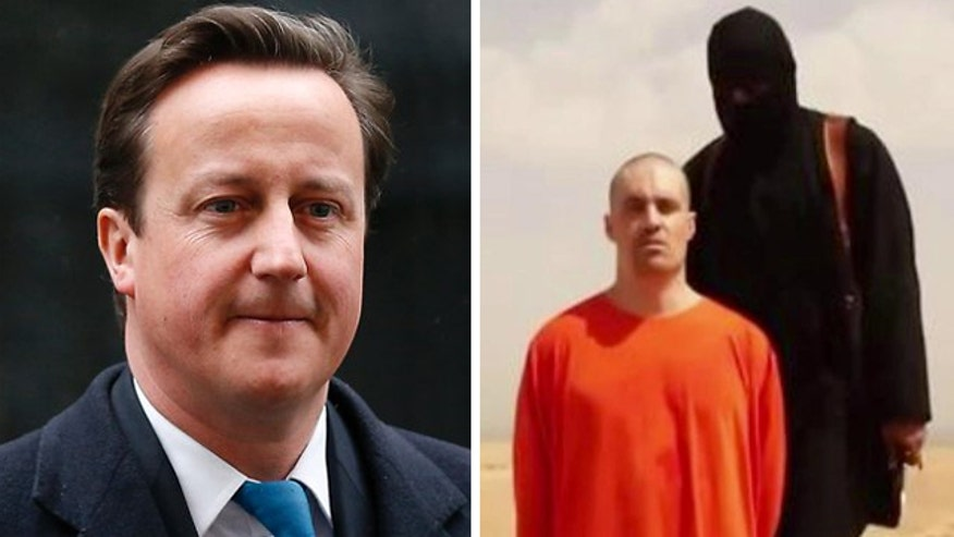 Executioner appears to speak in British accent