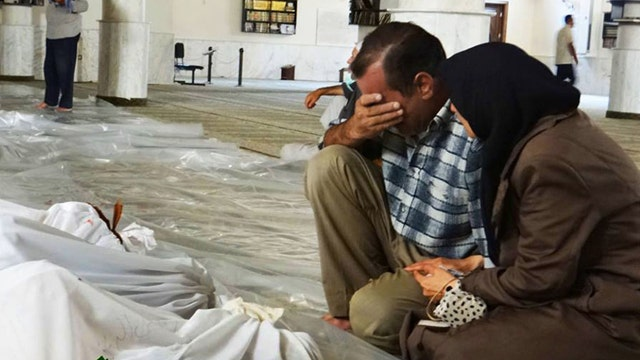 How will US respond to alleged Syrian chemical attack?