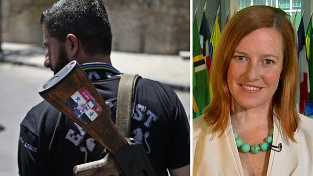 Jen Psaki on Syria: 'All options remain on the table'