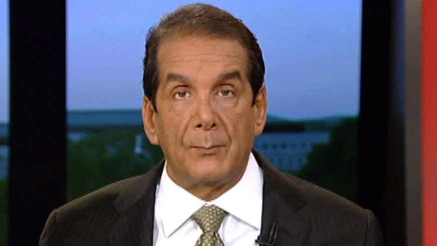 "Krauthammer said on Thursday there is no reason we cannot provide air cover for boots already on the ground in Iraq saying, ""this is a perfect scenario for an air war against them [ISIS]."""
