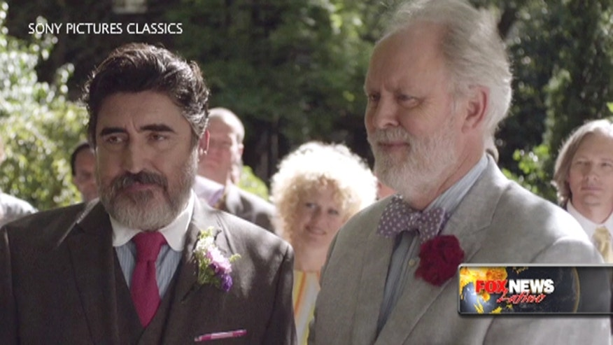 "Alfred Molina talks about his new movie ""Love Is Strange"" who features a gay couple who recently gets married."
