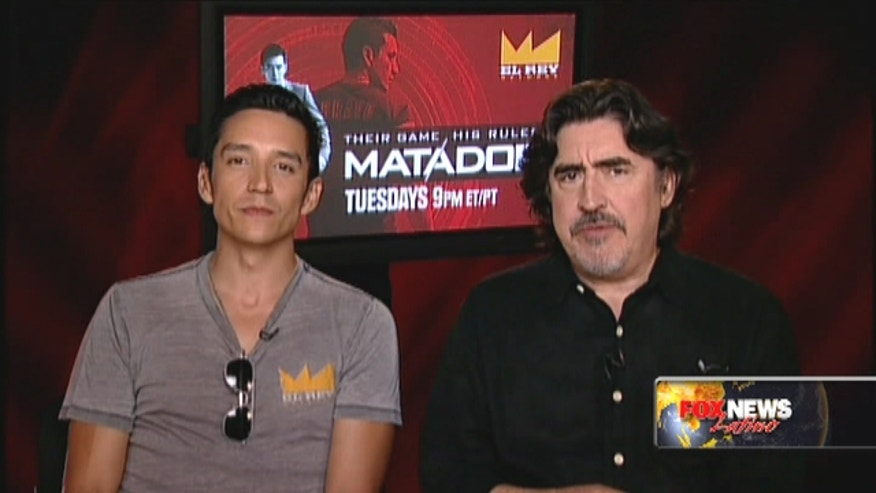 "Alfred Molina and Gabriel Luna, stars of El Rey's ""Matador"" opened up about the intense spy thriller."