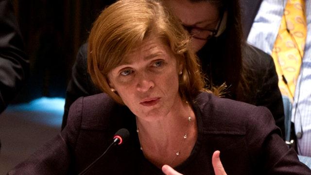 UN ambassador under fire for missing emergency Syria session