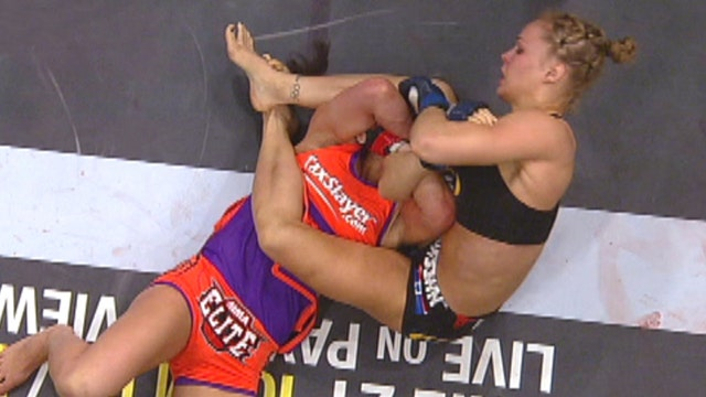 Meet one of the UFC's most dominating female fighters
