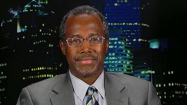 Dr. Ben Carson the cure for 2016?