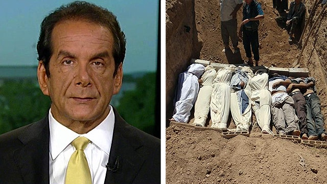Krauthammer On The 'Red Line' In Syria