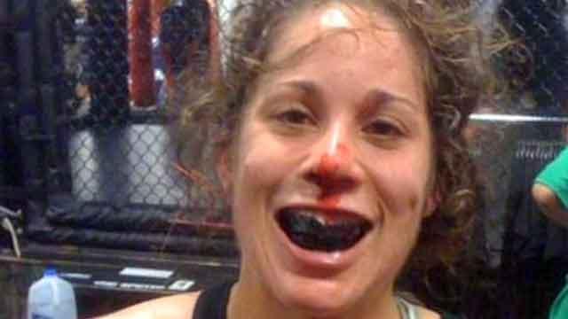 Inside Liz Carmouche's first taste of the UFC