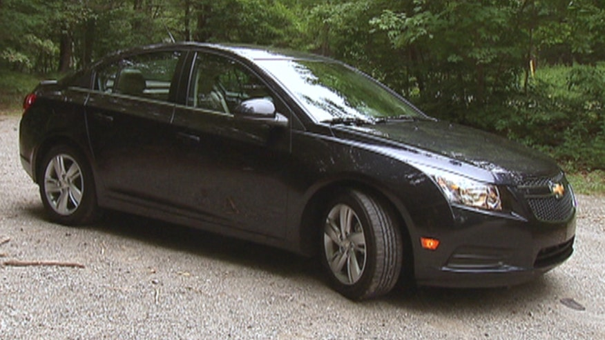 Fox Car Report drives the 2014 Chevrolet Cruze Diesel.