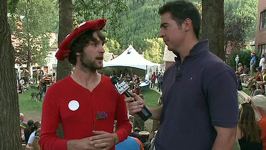 "Jesse Watters attends the ""Mushroom Festival"" in Colorado"