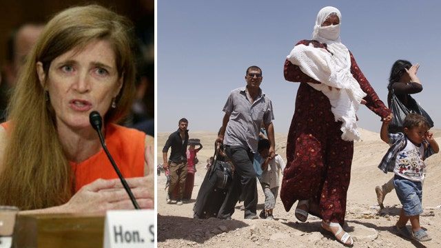 UN Ambassador Power on vacation during Syria meeting