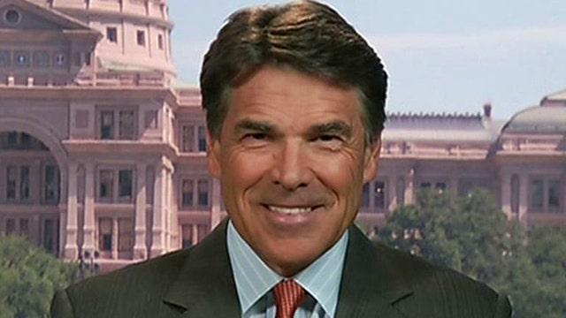 Gov. Perry on DOJ plan to sue Texas over voter ID law
