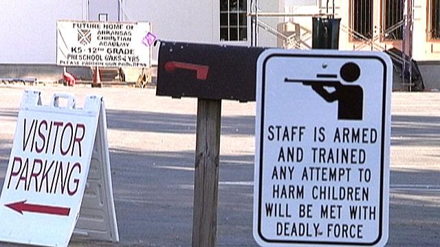 School teachers toting guns