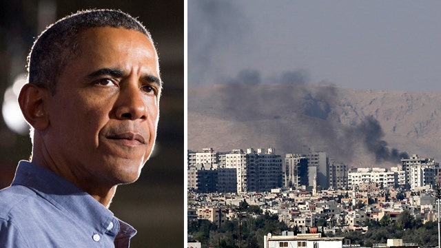 Obama: Report of chemical attack in Syria is 'grave concern'