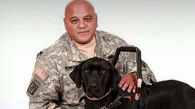 Disabled war hero to sue KFC for turning away service dog