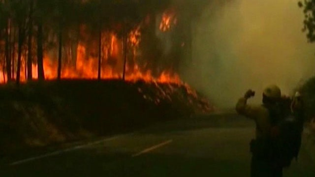 Massive Yosemite fire threatens San Francisco power supply
