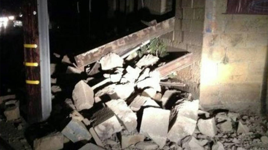Northern California hit with quake