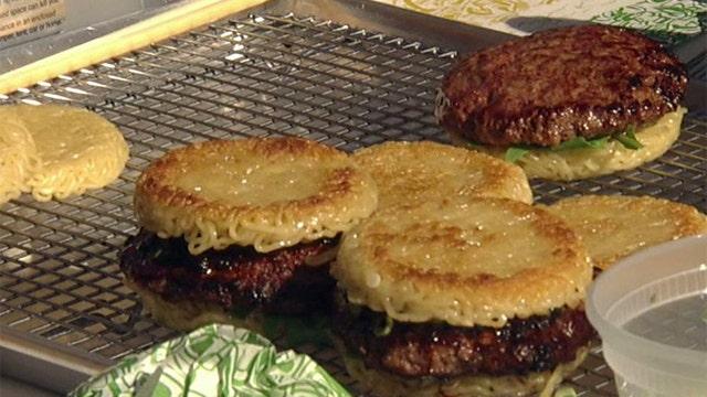 Introducing the Ramen Burger