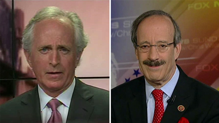 Reaction from Sen. Bob Corker and Rep. Eliot Engel