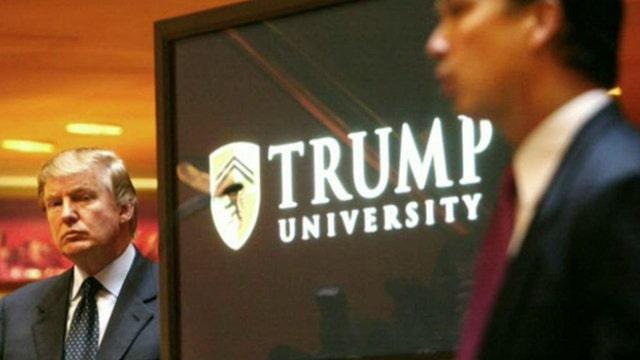 Donald Trump being sued over Trump University