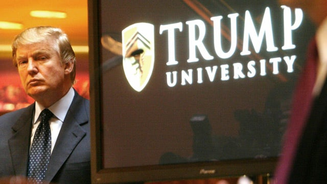 Donald Trump responds to 'Trump University' lawsuit