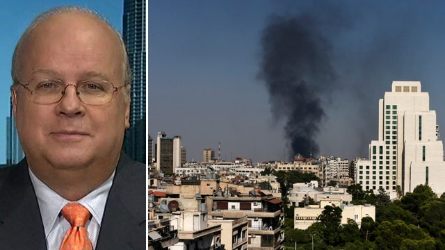 Karl Rove on Syria: US 'hemmed in' by Obama's actions, words