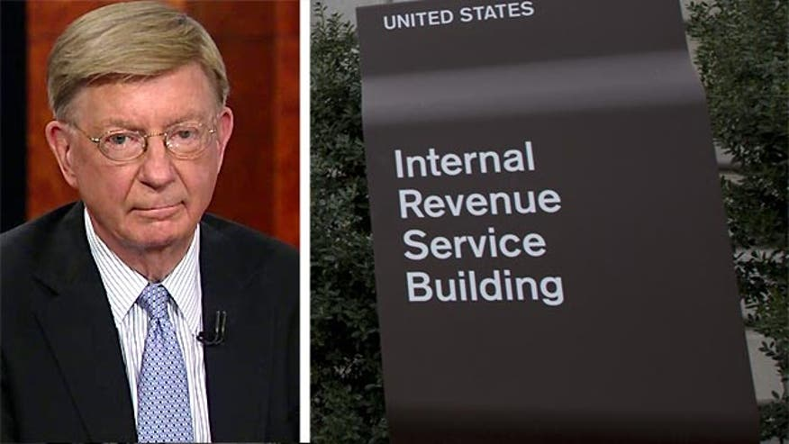 "The IRS is ""off the rails"" and ""thoroughly corrupted,"" according to George Will."