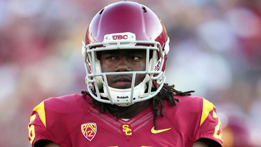 Josh Shaw jumps from second-floor balcony, sprains ankles