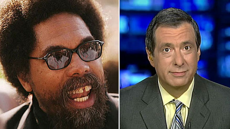 Howard Kurtz says Cornel West has mounted an extraordinarily harsh and personal attack on the president