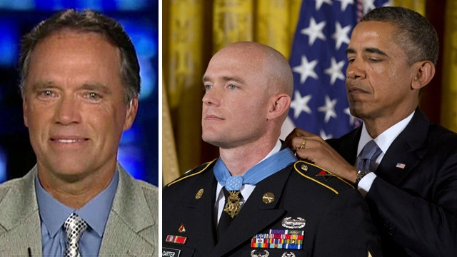 Father of Medal of Honor recipient on 'America's Newsroom'