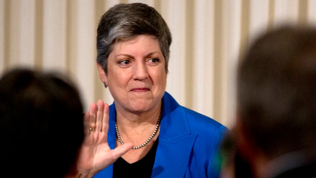 Sec'y Napolitano says farewell after 4 years on the job
