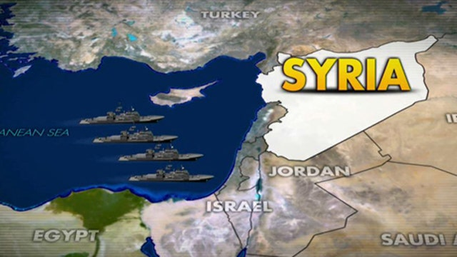 What would a US strike on Syria look like?