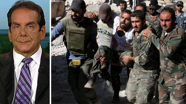 Krauthammer discusses acting on the Syrian conflict