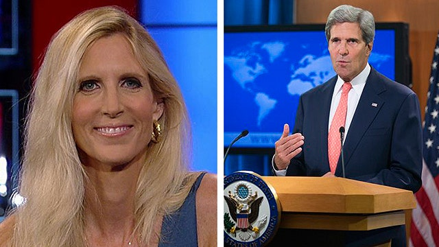 Ann Coulter grades Washington's stance against Syria
