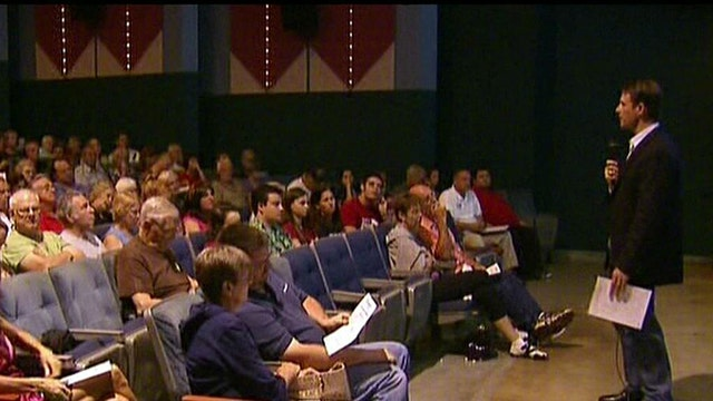 Town hall meetings teach citizens about ObamaCare