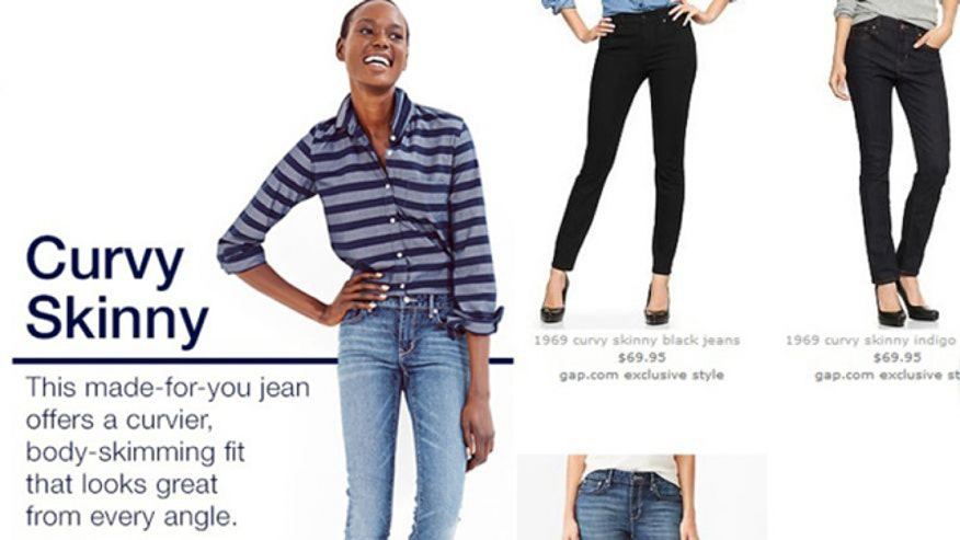 Some women don't think GAP knows what 'curvy' means