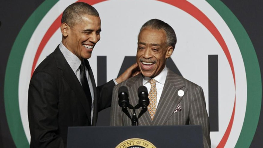 'Off the Record,' 8/27/14: The president picking The Rev. Al Sharpton as his 'liaison' in Ferguson was a poke in the eye to many Americans. We need a uniter