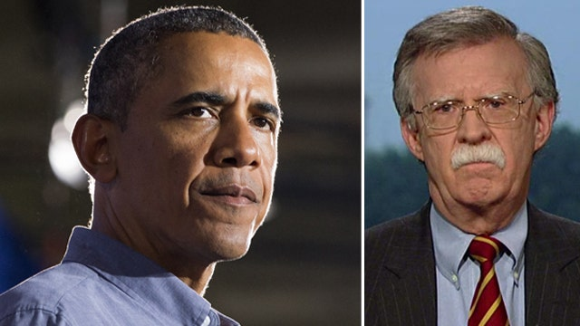 Amb. Bolton: Obama didn't think through red line declaration