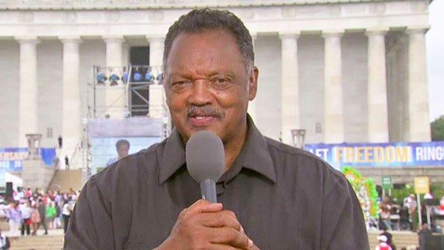 Rev. Jesse Jackson: 'We're free, but less equal'