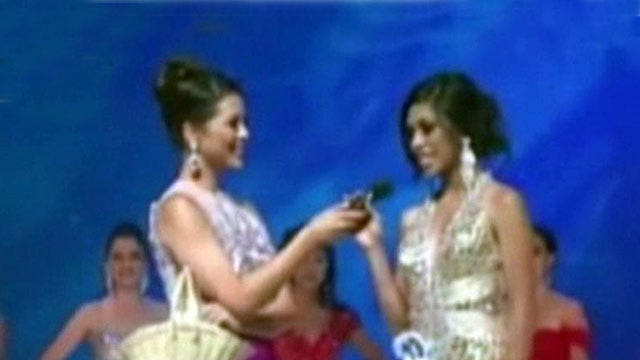 Beauty pageant contestant botches 'sense' question