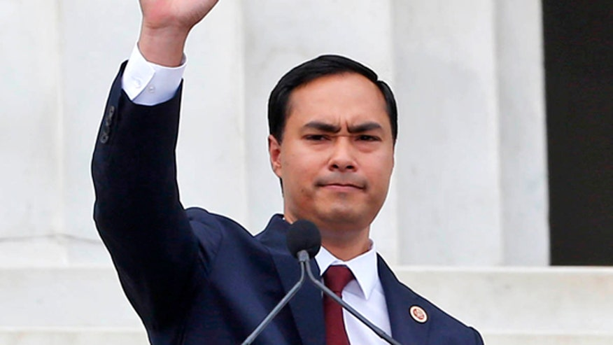 Joaquin Castro speaks at 50th Anniversary of the March on Washington